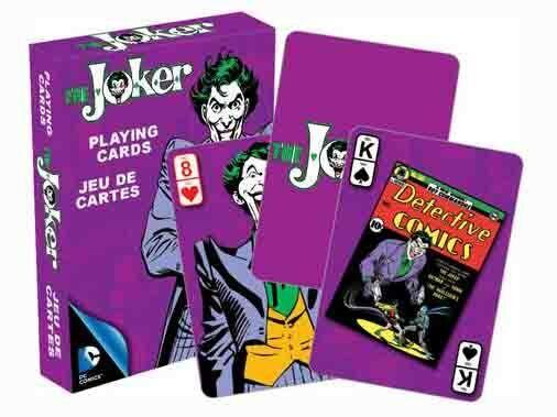 DC Comics Retro 'THE JOKER' Playing Cards Licensed Product GOTHAM CITY BATMAN