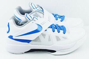 a3a7429fce01 Nike Zoom KD 4 IV CT16 QS Mens Size 7 Basketball Shoes White AQ5103 ...