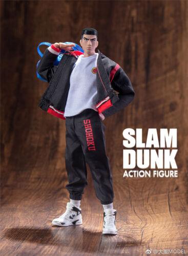 Dasin GT model 6 inch action figure anime Slam Dunk Akagi Takenori winter cloth