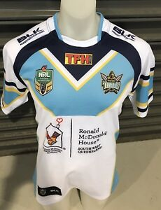 Gold-Coast-Titans-Seagulls-Titans-Giants-Game-Worn-Players-Jersey-Issue-Cut-Qld