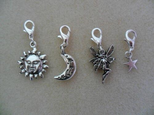 Clip sur charme-bracelet sac cadeau gratuit sac à main zip
