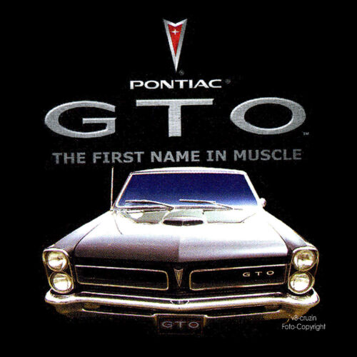 Classic Pontiac Gto Muscle Car T-Shirt Vintage Classic Car Car 0173