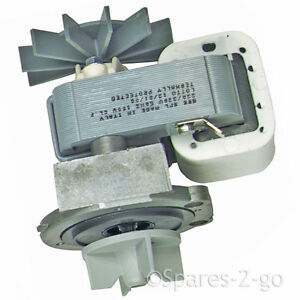 Drain pump base housing shaded pole motor for miele for Washing machine pump motor