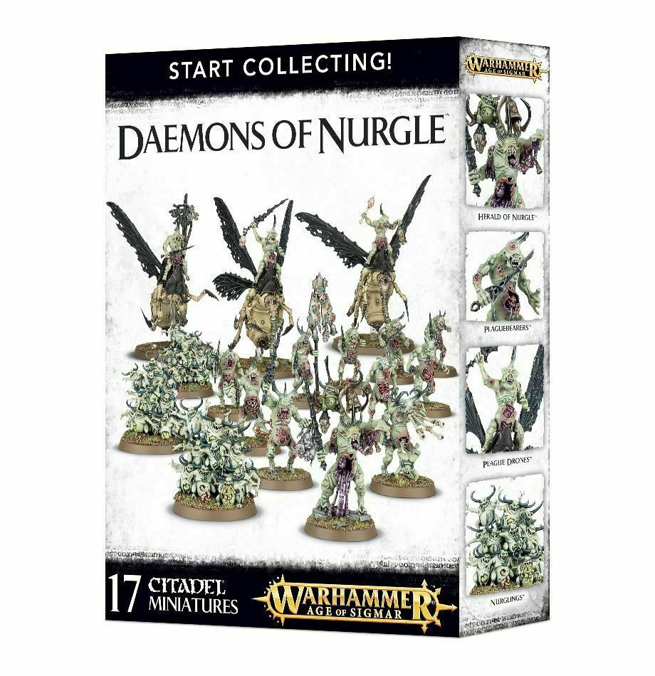 Warhammer Age of Sigmar Start Collecting Daemons of Nurgle 70-98