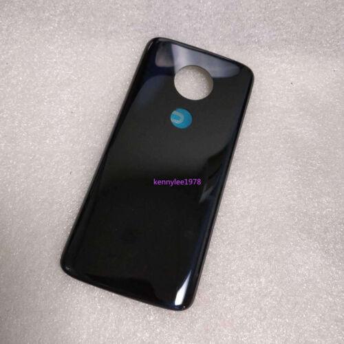 Tapa Trasera De Batería Trasera Panel de Vidrio para Motorola Moto G6 XT1922 Negro Play