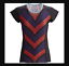 Moxie Little Red Colorblock OUTRIDE Jersey Tee Shirt Cycling Top Sz Medium NWT