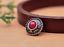 10X-Silver-Tone-Flower-Leather-Craft-Bag-Belt-Purse-Decor-Turquoise-Conchos-Set miniature 33