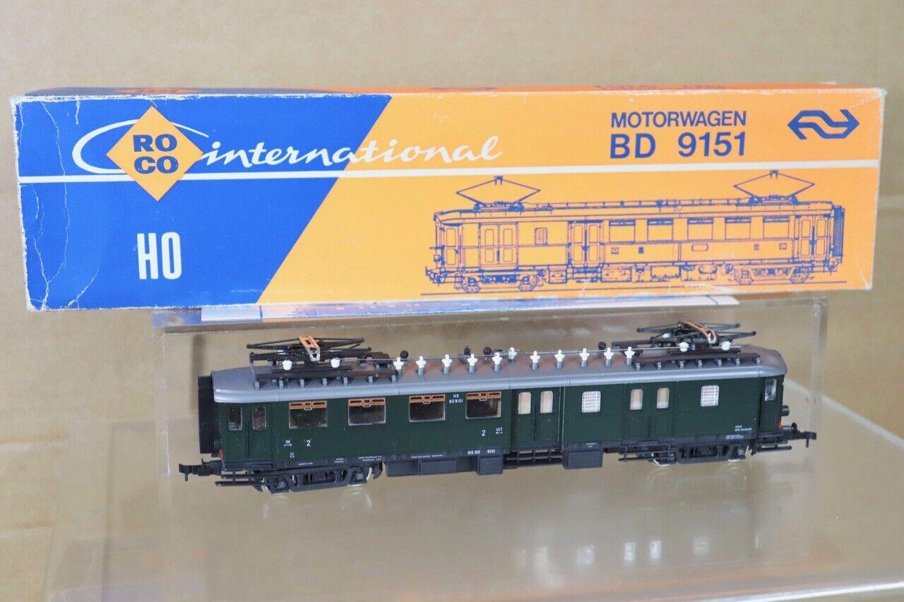 Roco 04189S NS Clase verde Bd 9151 E- Lok Mororwagen Loco en Caja NT