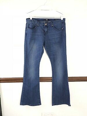 Bdg Womans Jeans Size 32/34l Mid Rise Roadie Boot Dependable Performance Jeans