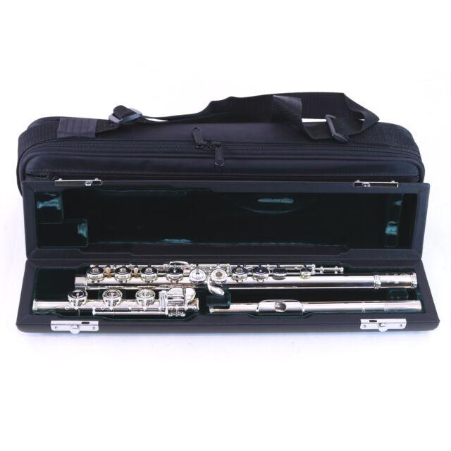 Azumi Model AZ1SRBO Advanced Silver Plated Flute SN XD00134 DISPLAY MODEL