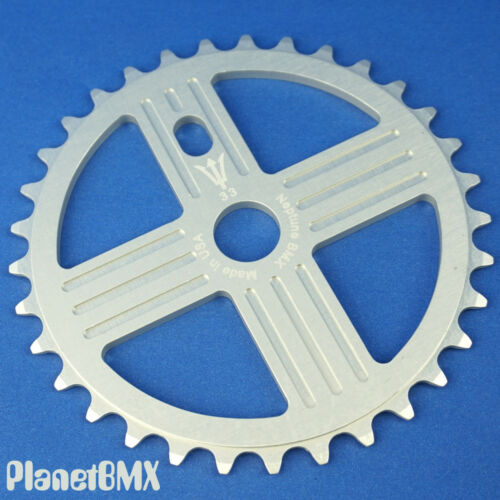 NEPTUNE BMX 33 tooth HELM Sprocket SILVER Gear for 19mm spindles SE Big Ripper