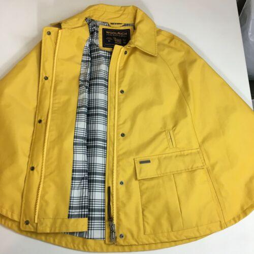 Woolrich Womens Small Cape Rain Jacket Coat Plaid