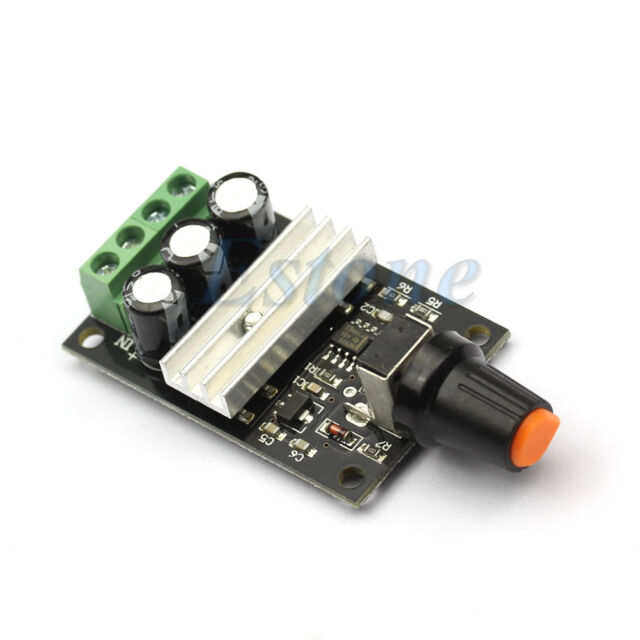 New PWM DC Motor 6V 12V 24V 28V 3A Speed Control Switch Controller