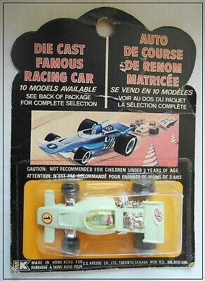 Canadian Problema Tintoys Auto Da Corsa Formula 1 F-1 Racer Blister Card Lotus? Brm?-mostra Il Titolo Originale Elegante Nello Stile