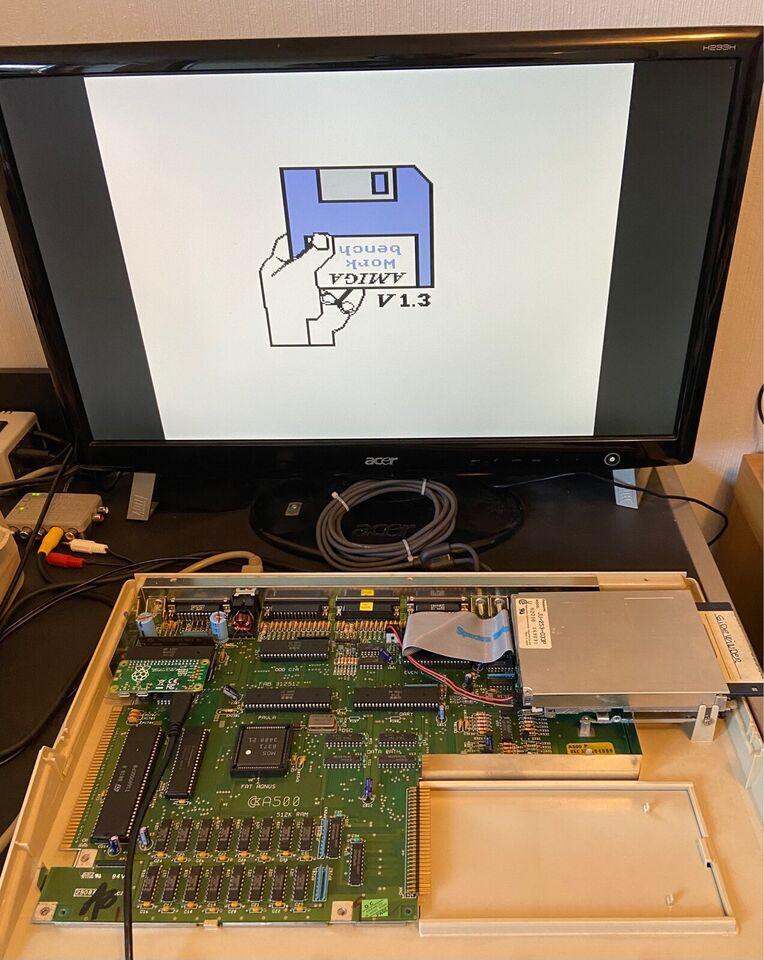 RGBtoHDMI , Amiga 500