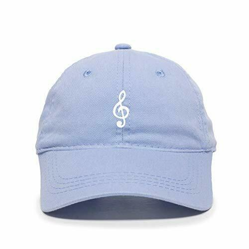 DSGN By DNA Music Note Baseball Cap Embroidered Cotton Adjustable Dad Hat