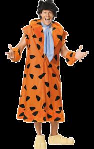 Deluxe Fred Pierrafeu Costume Homme Les Flintstones TV 60 S Homme Des Cavernes Déguisement