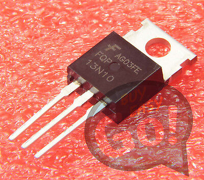 5PCS NEW FAIRCHILD FQP13N10L 13N10 Encapsulation:TO-220,MOSFET N-CH 100V 12.8A