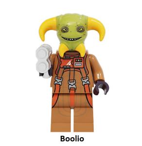 New Minifigure Rare Custom Lego Jango Fett New Version Character Star Wars Movie