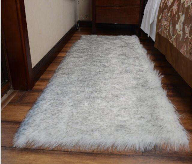 Large Faux Sheepskin Shaggy Flokati Rug