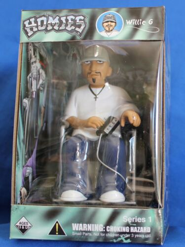 factory sealed package Wheel Chair WILLIE-G Homies action figures 7/""