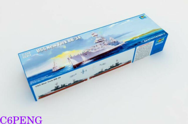 Trumpeter 05339 1/350 USS New York BB-34 Hot