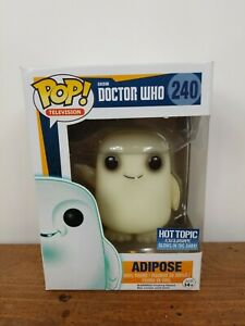 240 Doctor Who Adipose Glow in the Dark-New in Box Funko Pop Vinyl Figure No