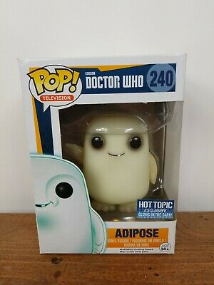 Funko Pop Adipose Doctor Who Glow In The Dark Vinyl Figure #240