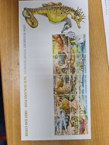 New-zealand-stamps-1996-Seashore-set-on-FDC