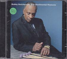 BOBBY HUTCHERSON - for sentimental reasons CD