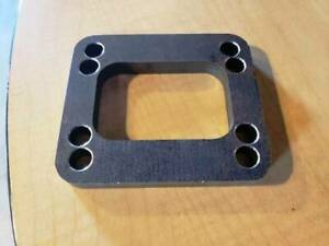 T3//T4 Turbo Manifold Flange Adapter Stainless Steel T04E GT35