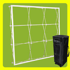 10 Ft Tension Fabric Pop Up Booth Display Trade Show Straight Backdrop Frame