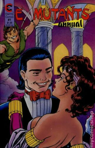 Ex-Mutants Annual #1 FN 1988 Stock Image