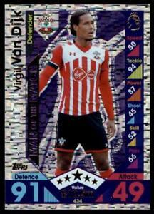 Match Attax 2016-2017 Virgil Van Dijk Southampton Man of the match No 434