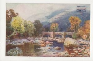 Dartmoor-Fingle-Steps-HB-Wimbush-Tuck-Postcard-528a