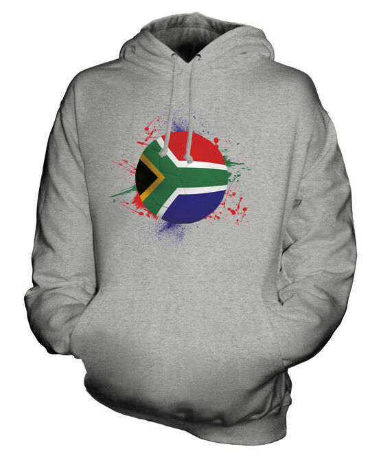 SOUTH AFRICA FOOTBALL UNISEX HOODIE TOP GIFT WORLD CUP SPORT