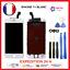 ECRAN-LCD-VITRE-TACTILE-SUR-CHASSIS-IPHONE-7-7-8-8-plus-Noir-Blanc-OUTILs miniature 5