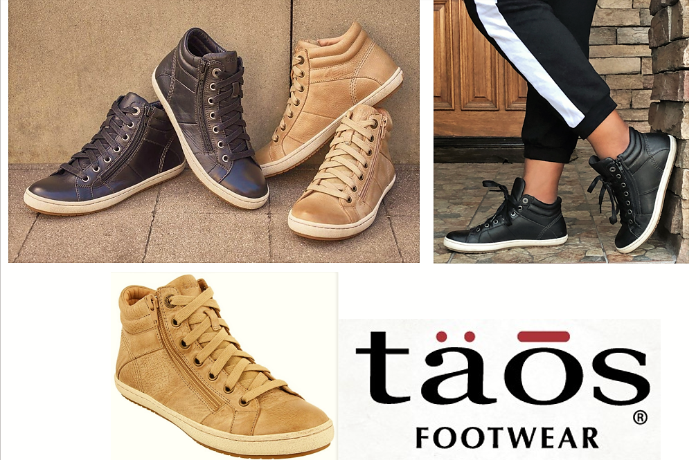Taos Footwear Leather Sneaker boots with zip and laces - Taos shoes Union