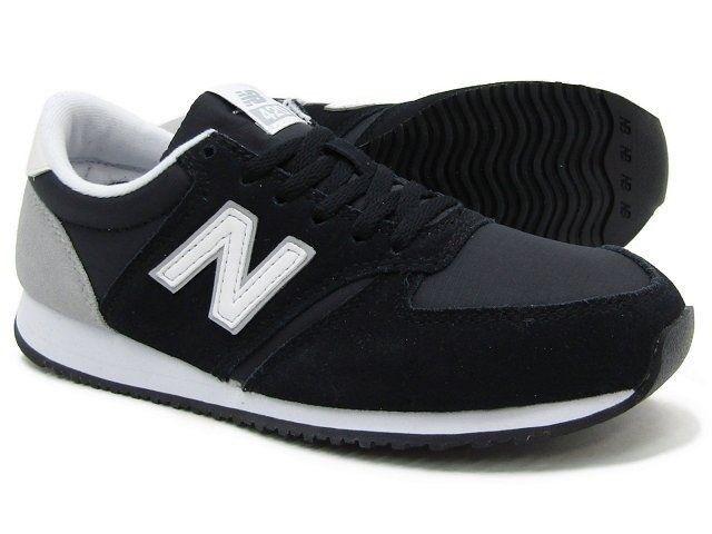 Frauen sportliche sneaker new balance casual schuhen an der schwarzen wl420crb.