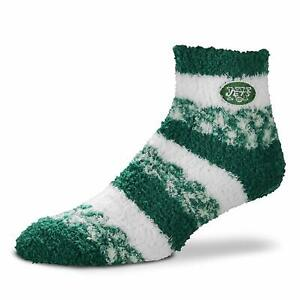 NFL Sherpa Footy Slipper Socks For Bare Feet One Size Fits Most