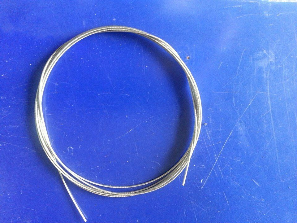 PrestigefishingPVC CLEAR COATED SHARK wireS S 316 7x7 49strand 20meters  500 lb  cheap and high quality