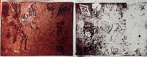 ANCIEN-CLICHE-D-039-IMPRIMERIE-TAMPON-CARICATURE-SATIRIQUE-HOMME-DEVANT-CHEMINEE