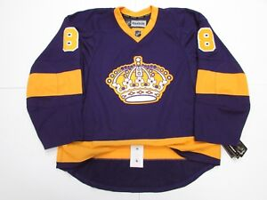 finest selection b76c4 b1749 Details about DOUGHTY LOS ANGELES KINGS AUTHENTIC VINTAGE PURPLE REEBOK  EDGE 2.0 7287 JERSEY