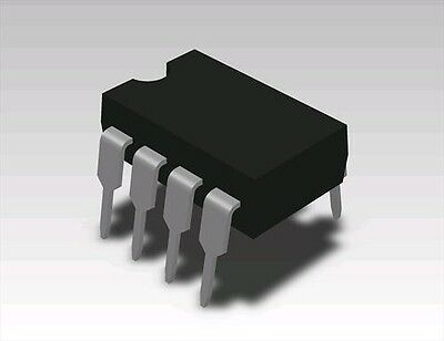2x LM201AN DIP-8 Non Compensated Single OP-AMP 1MHZ Low Current Obsolete LM201N