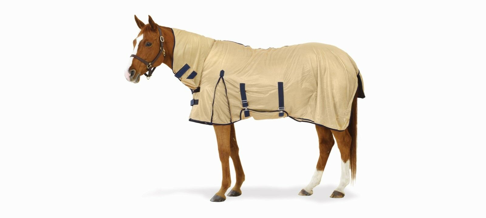 NEW Equi-Essentials™ Equi-Essentials™ NEW Softmesh Combo Fly Sheet with Belly Band - 84