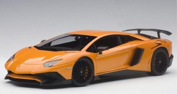 Lamborghini Aventador lp750-4 SV (arancio Atlas Metallic naranja) 2015