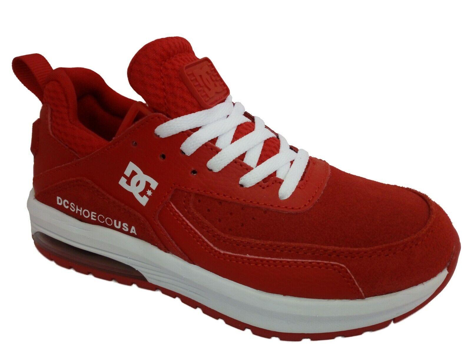 shoes da Ginnastica DC shoes Vandium SE in Pelle color red Numero 36