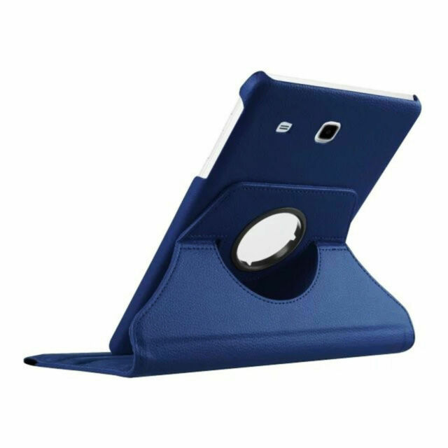 Bag for Samsung Galaxy Tab E 9.6 Inch Sm T560 T561 Case Book Cover Blue Set