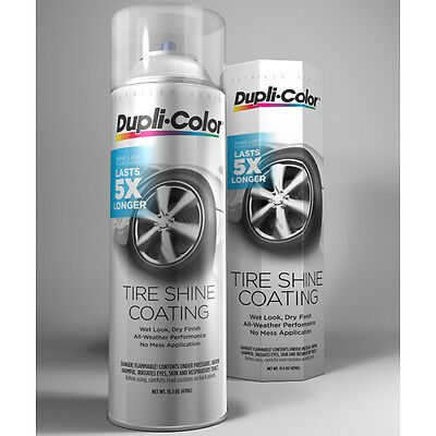 Dupli-Color TSHC100 Tire Shine Coating Spray Detailer Series 15.5 oz.