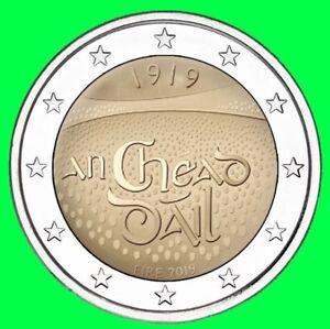 2 Euro Münze Irland 2019 100 Jahrestag Der Versammlung In Dáil